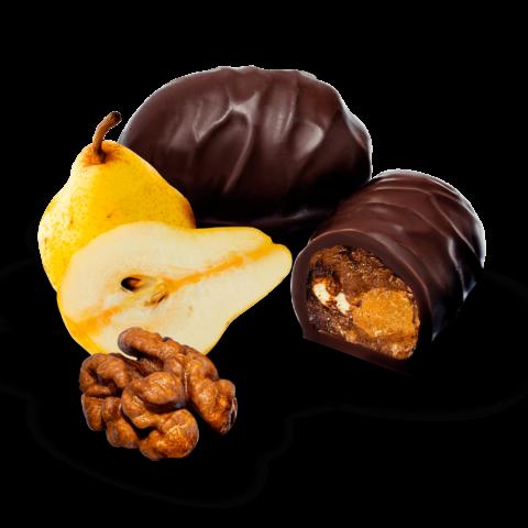 Цукерки «Груша з горіхом у шоколаді»