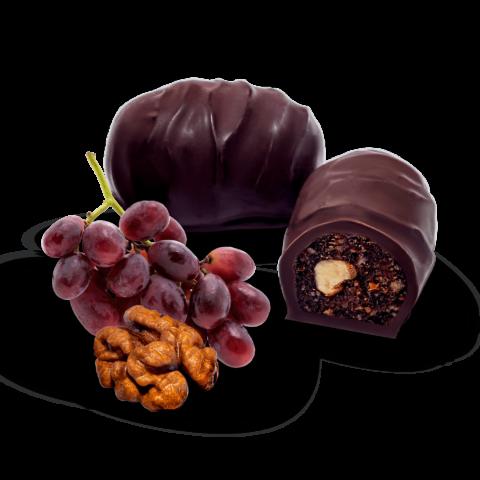 Цукерки «Родзинки з горіхом у шоколаді»